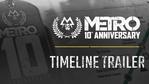 Metro Exodus - 10th Anniversary Timeline Trailer