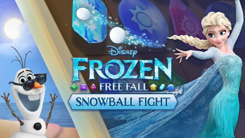 Frozen Free Fall: Snowball Fight fokus billede