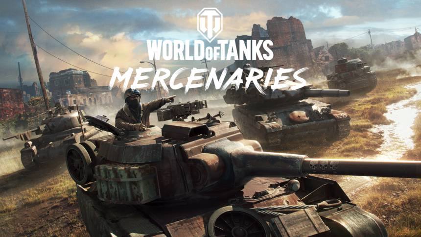 World of Tanks: Mercenaries fokus billede