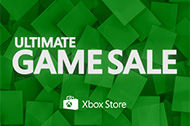 Ultimate Game Sale på Xbox Game Store