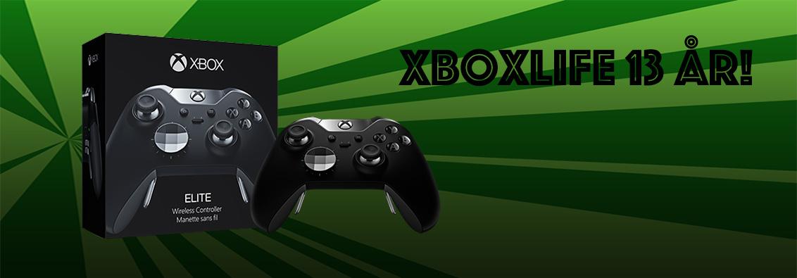 Konkurrence: Xboxlife fylder 13 år!