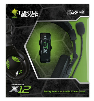 Turtle Beach X12 Ear Force headset til Xbox 360