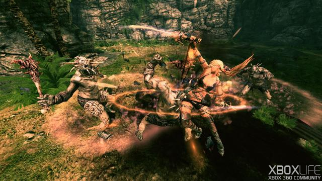 Blades of Time screenshot 1